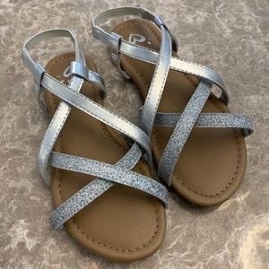 Girls Justice Sandals Size 1